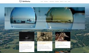 Site vitrine Objectif reportages réalisé par zenitek